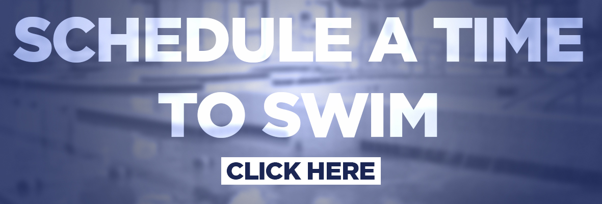 Graphic with text schedule a time to swim