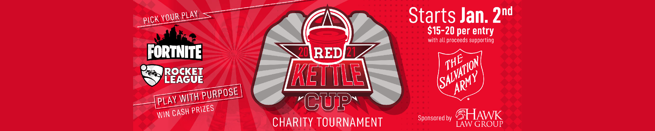 2021 Red Kettle Cup charity tournament